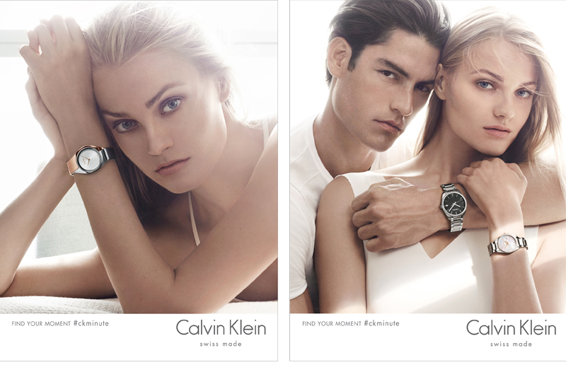 Swatch reveals Calvin Klein watches advertising - WatchPro