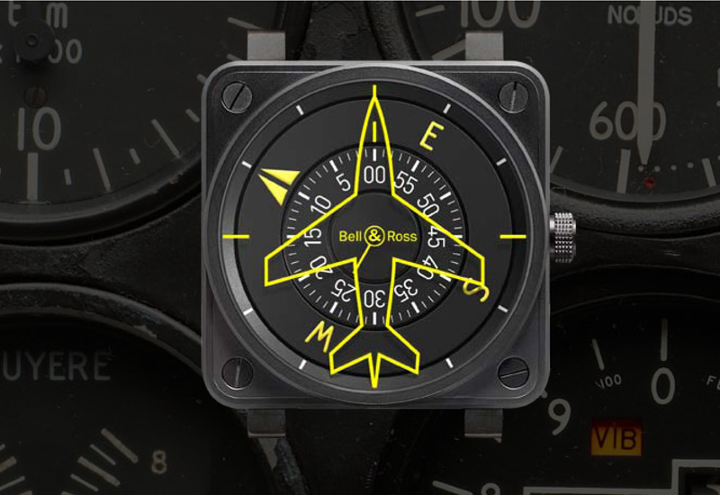 bremont and boeing flight watches take model