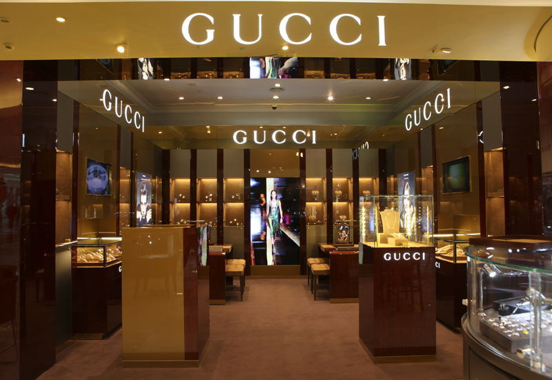 UK's first Gucci watch and jewellery store opens