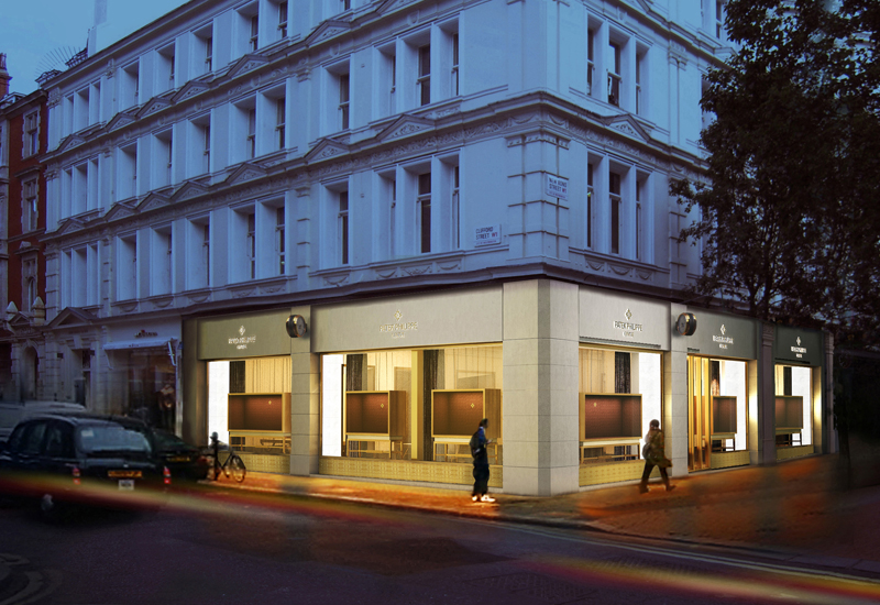 Patek philippe salon reopens on bond st watchpro for 108 new bond street salon