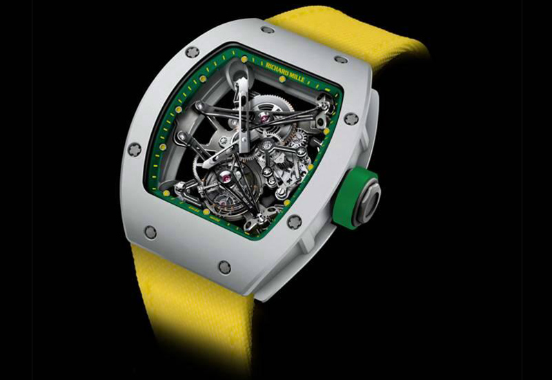 is usain making a bolt for richard mille watchpro