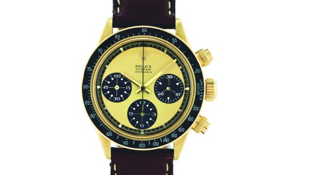 Hugh rice creates its own in house training academy watchpro - Under The Gavel Rolex Gold Daytona Paul Newman Watchpro
