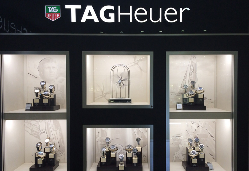 41b0698f896 IN PICS: Johnsons opens TAG Heuer shop-in-shop - WatchPro