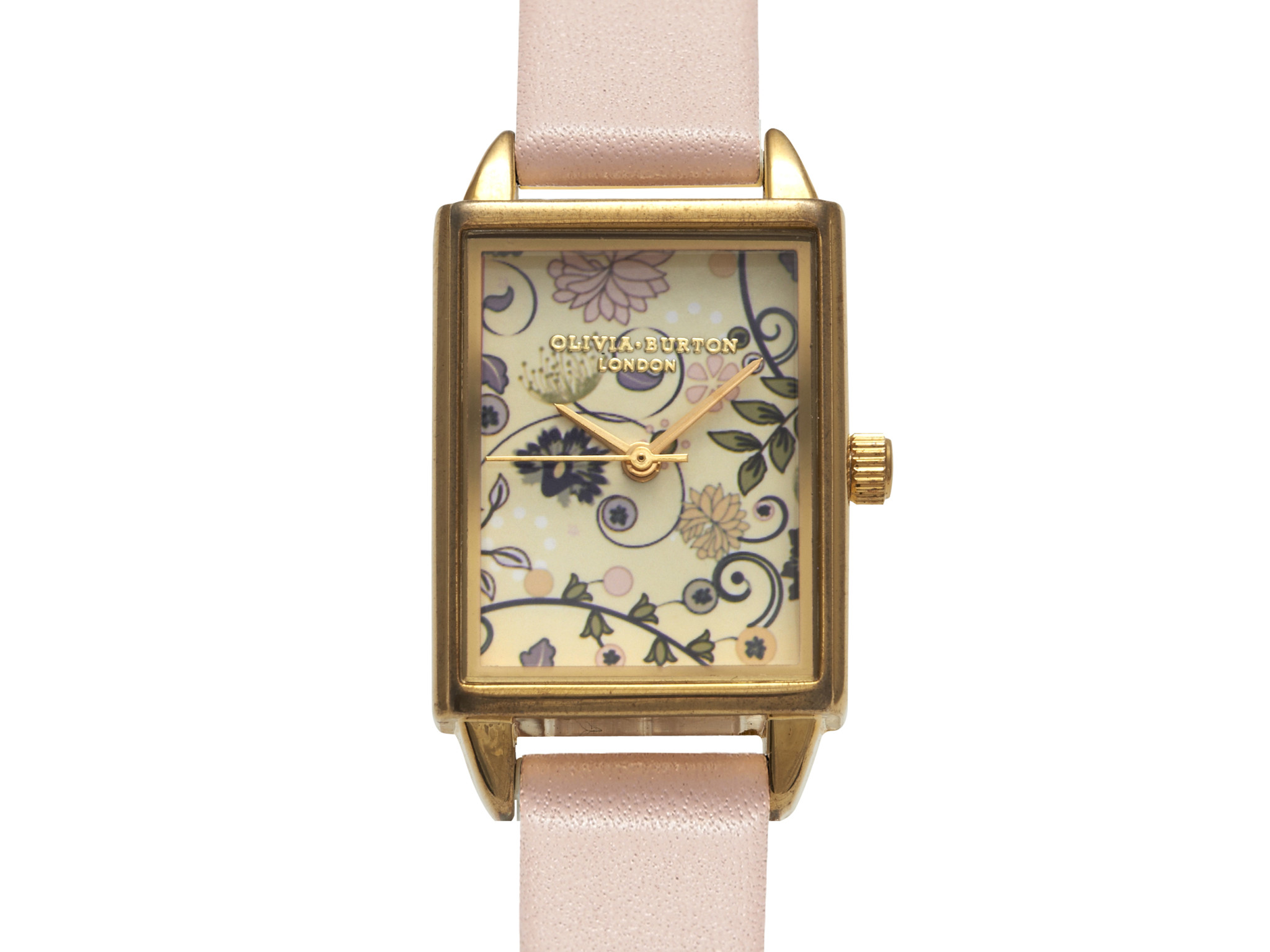 Olivia Burton Dusty Pink and Gold 65