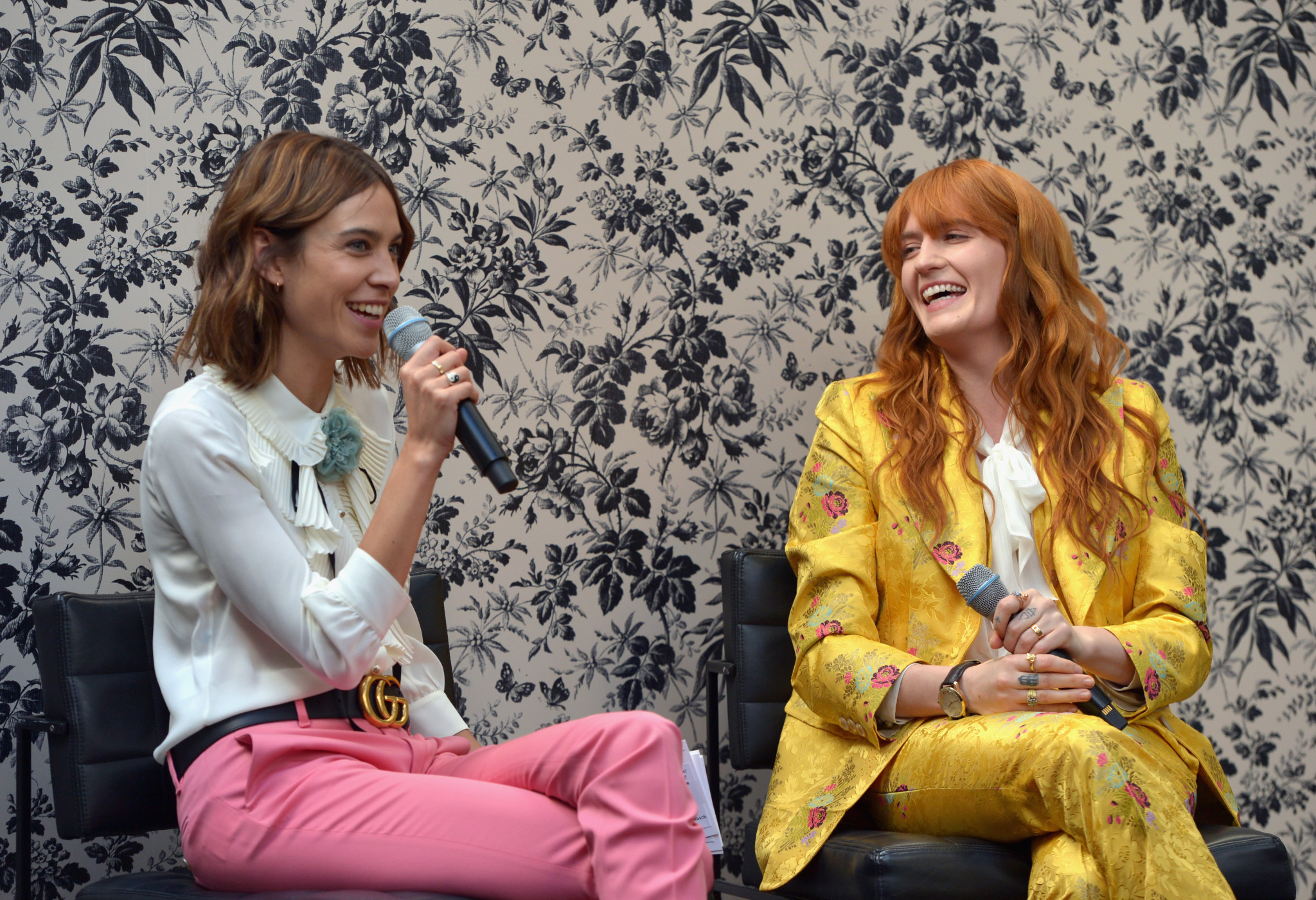 Florence Welch and Alexa Chung