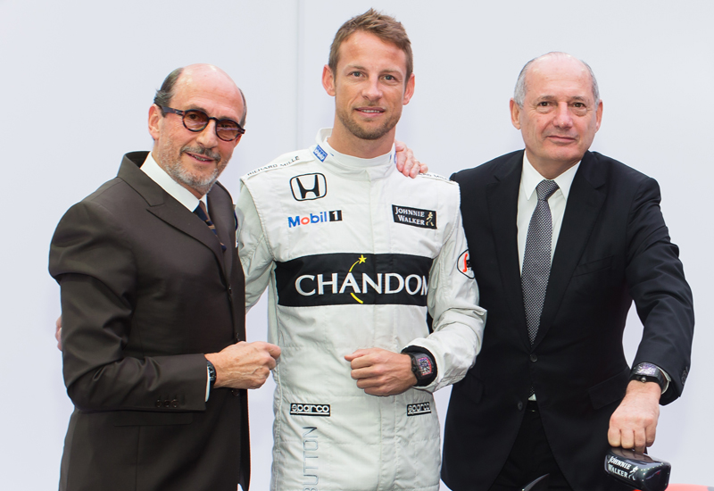 McLaren Honda Richard Mille Partnership Announcement