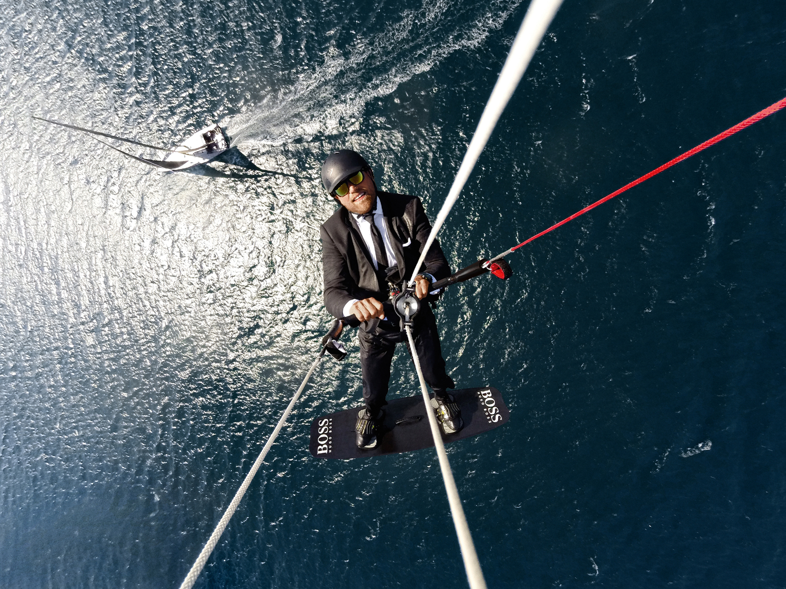 Alex Thomson Sky Walk 3 – picture credit = LLOYD IMAGES