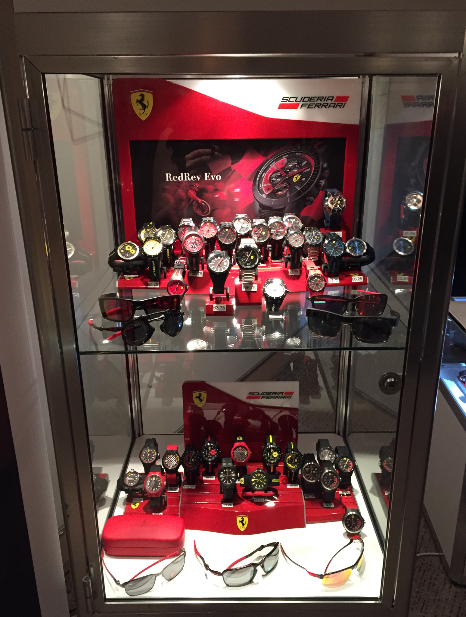 scuderia ferrari by first time banner watches the movado en news for