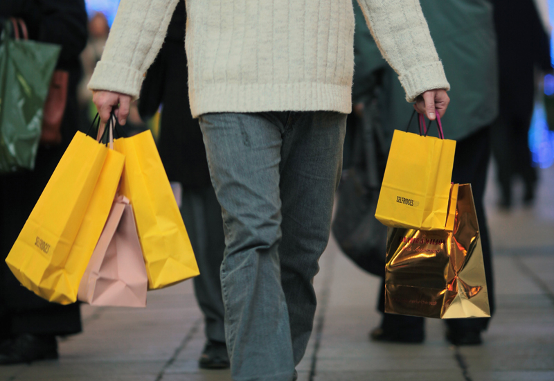 Christmas Splurge As High Street Takes Estimated £120 Million In Two Days