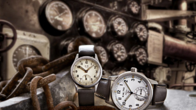 Alpina reissues a watch fit for a Kriegsmarine