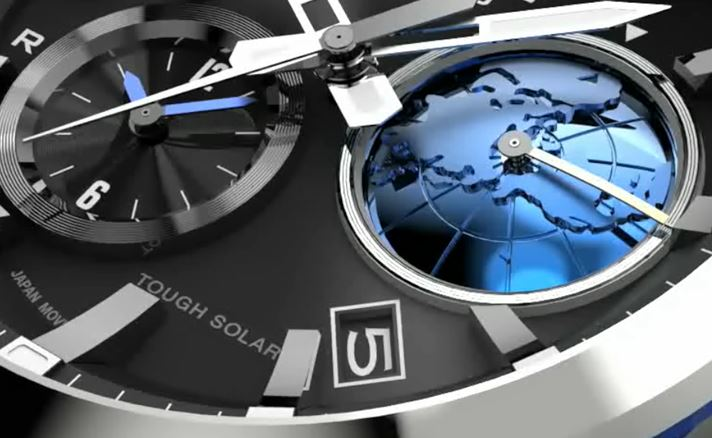 Dual Dial World Time inset