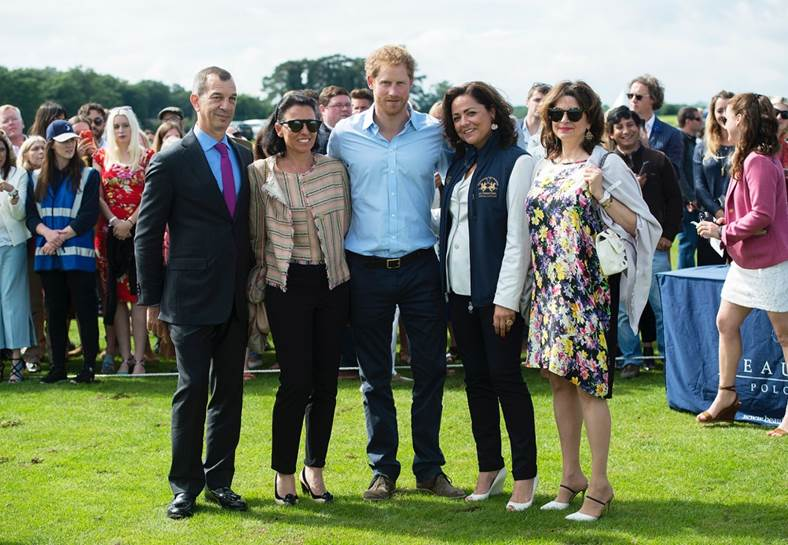Heidi Kingstone, Guest, Philippe Leopold Metzger, Piaget CEO, Prince Harry, Lorenza Cavalli, Brand Director, Piaget UK, Catherine Metzger