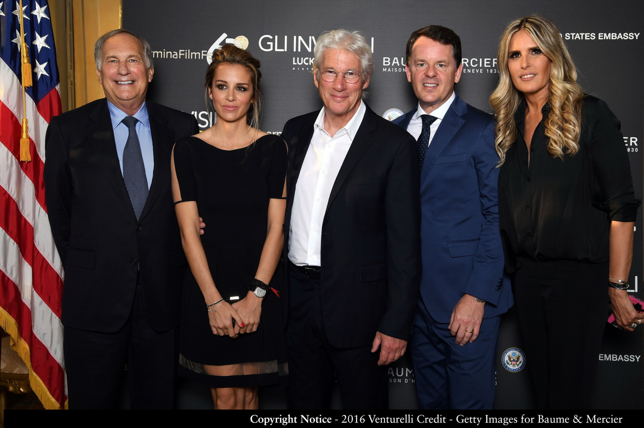 Richard Gere Charity Dinner with Baume & Mercier (3)