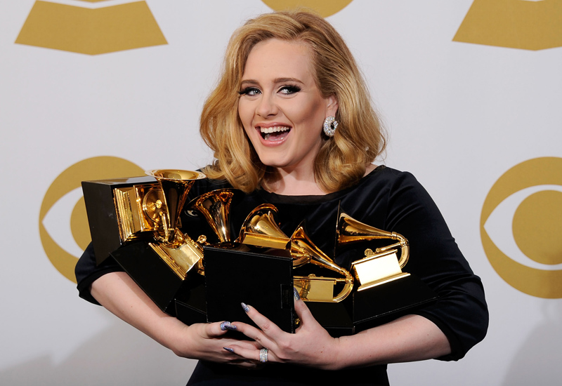 The 54th Annual GRAMMY Awards – Press Room