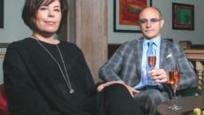 Claudia and Guiseppe Ferro, co-owners of Argento Fine Products.