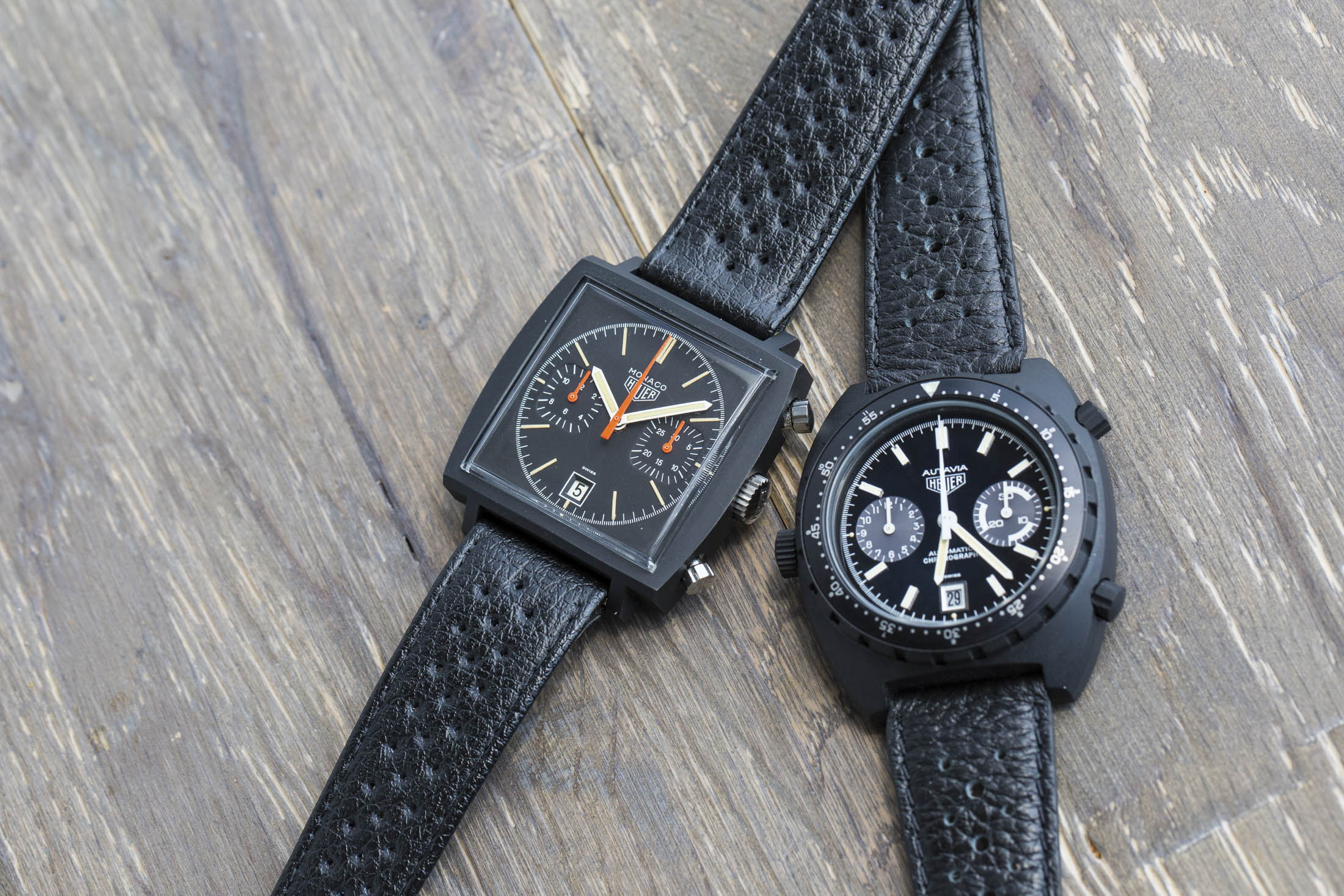 Crown and Calibre Heuer acution