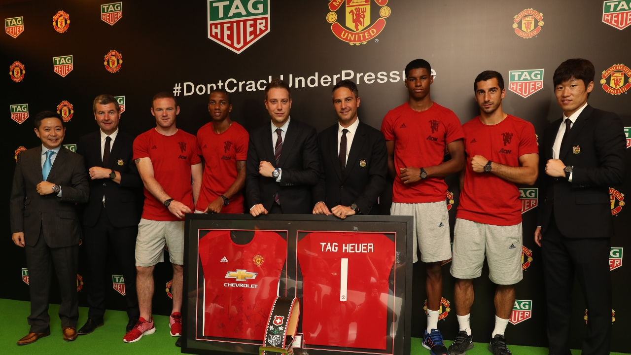 Breaking News Manchester United Names Tag Heuer As Official Timekeeper