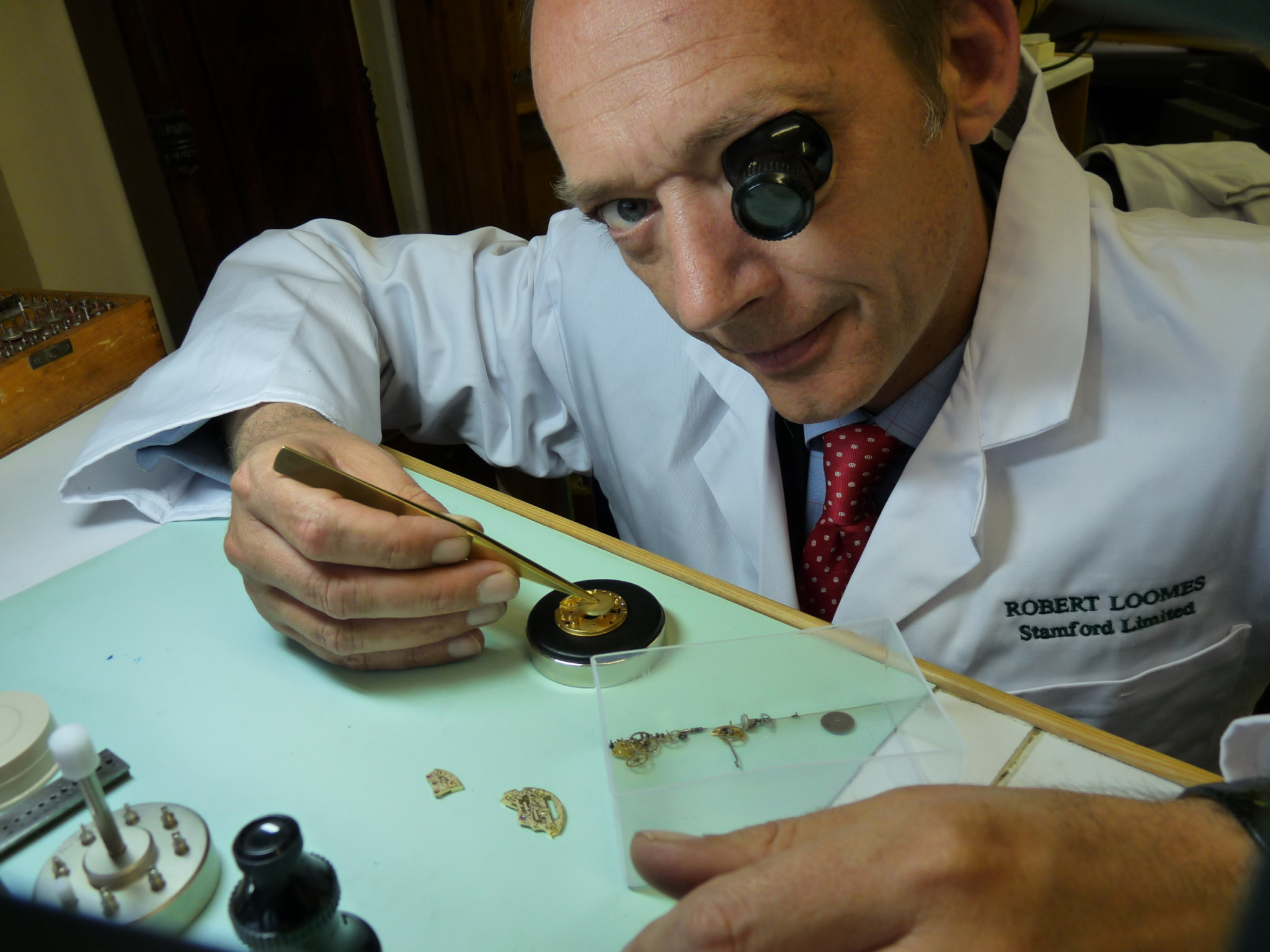 Robert watchmaking Robin