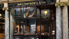 Watchfinder's boutique in Leeds was also attacked in July this year.