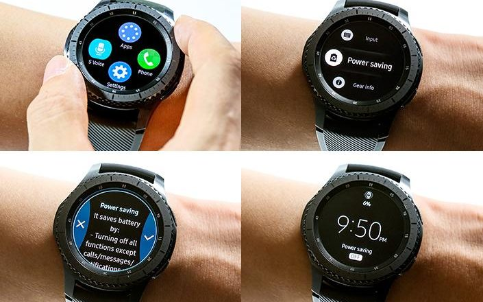 IN PICS: A closer look at Samsung's Gear S3 models - WatchPro