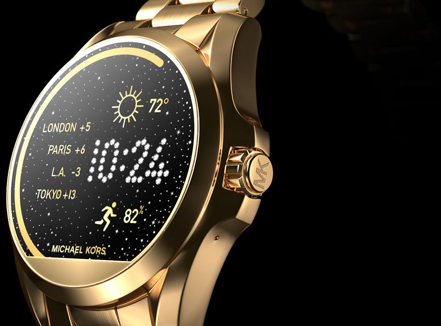michael kors access smartwatches go on sale in the uk watchpro. Black Bedroom Furniture Sets. Home Design Ideas