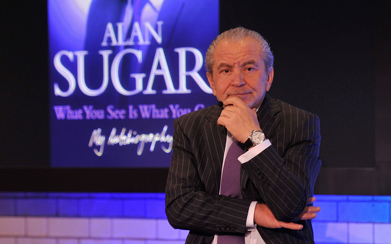 Apple Host Meet The Author: Lord Sugar