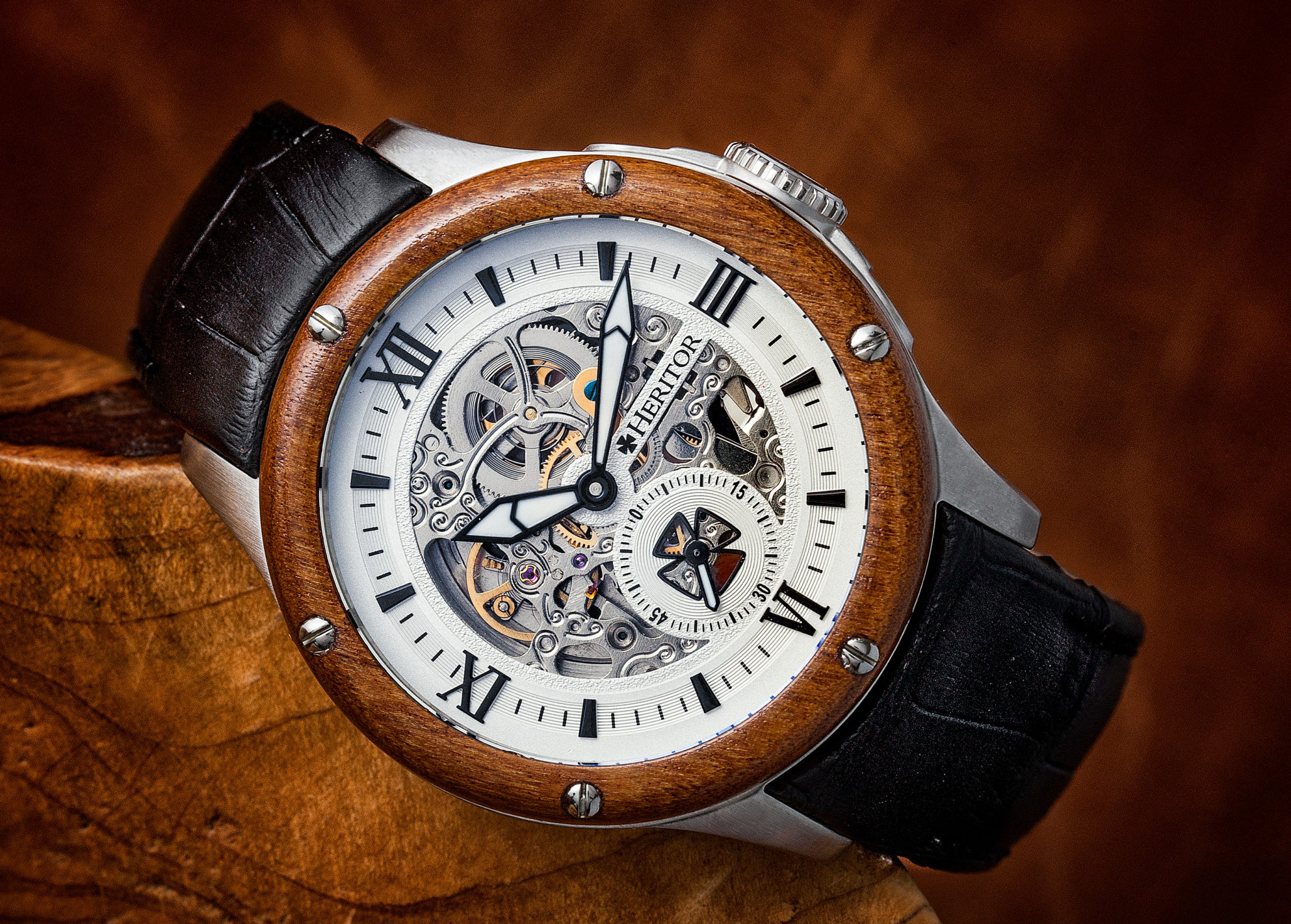 1d871500f HIGHLY COMMENDED, WatchPro's Watches to Watch, Heritor Montclair ...