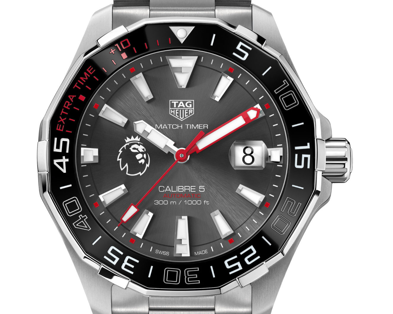 fb1cee42269 HIGHLY COMMENDED: Sports Activity Watches of the Year, TAG Heuer Aquaracer  Match Timer