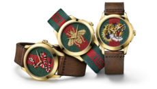 Gucci features embroidered snakes, tigers and bees on its 2017 novelties