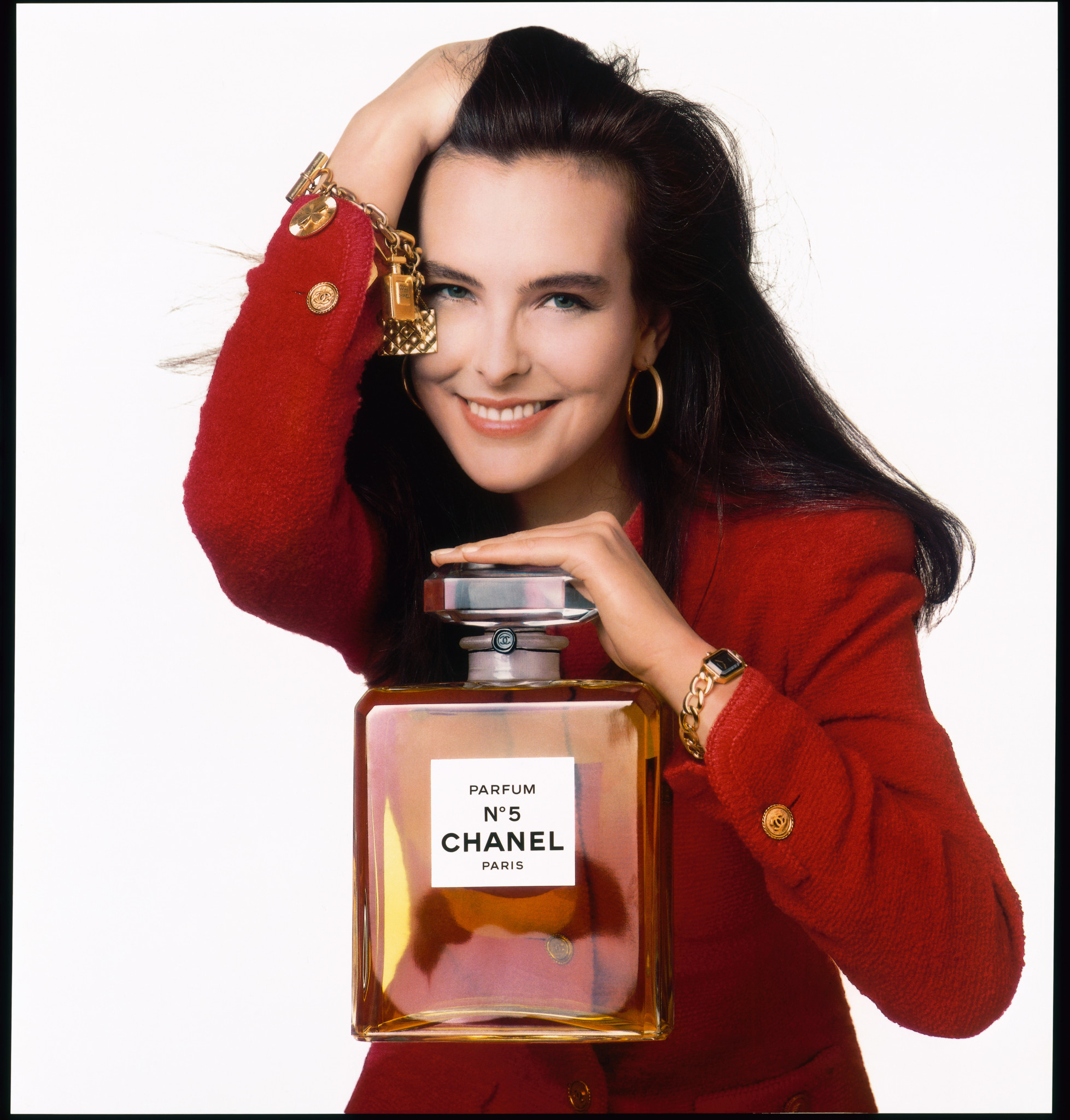 The original Chanel Premiere, launched with Carole Bouquet, in 1989.