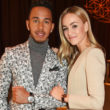 "GENEVA, SWITZERLAND - JANUARY 17:  Lewis Hamilton (L) and Carmen Jorda attend the IWC Schaffhausen ""Decoding the Beauty of Time"" Gala Dinner during the launch of the Da Vinci Novelties from the Swiss luxury watch manufacturer IWC Schaffhausen at the Salon International de la Haute Horlogerie (SIHH) on January 17, 2017 in Geneva, .  (Photo by David M. Benett/Dave Benett/Getty Images for IWC) *** Local Caption *** Lewis Hamilton; Carmen Jorda"