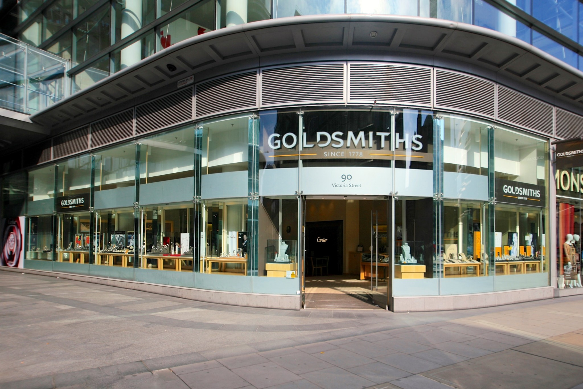 Goldsmiths has been opening new stores and refurbishing others in a programme of creating a luxury environment for watch sales.