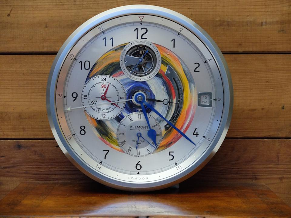 BREMONT-Ronnie Wood clock