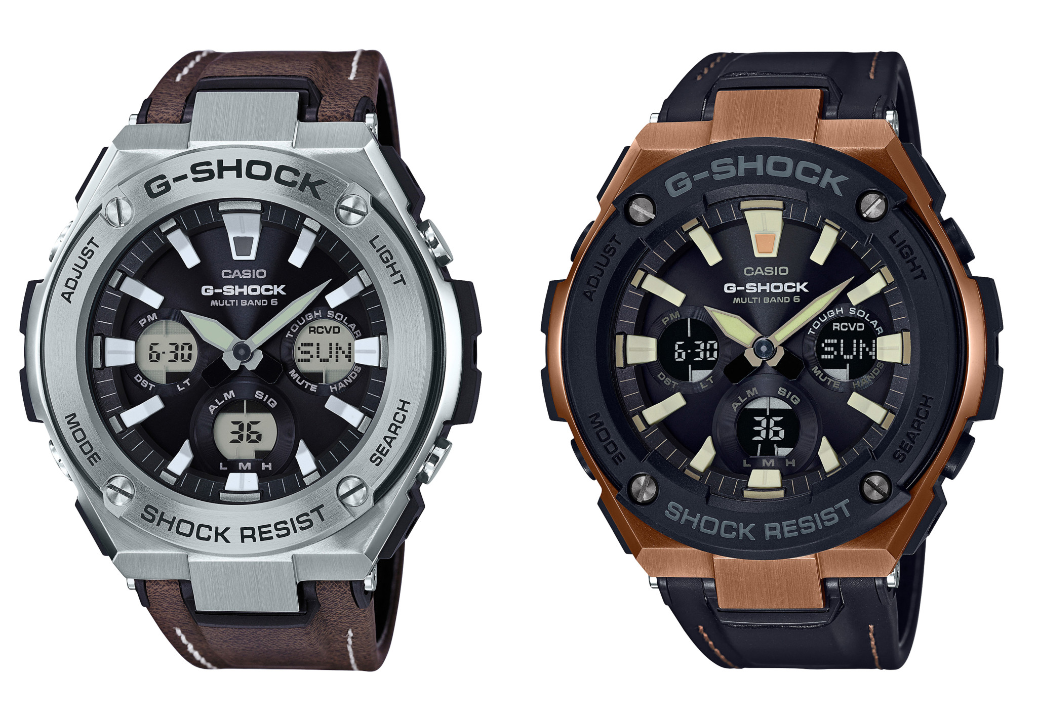 Casio gets tough with 2017 Mudmaster and G-Steel ...