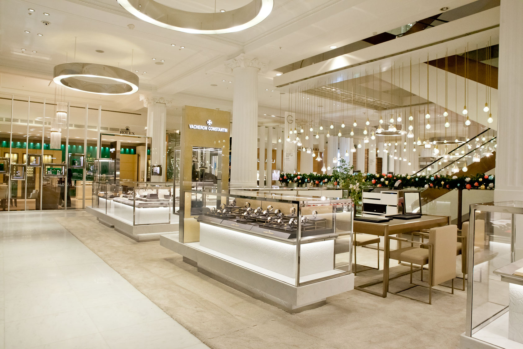 The newly refurbished Wonder Room at Selfridges is 35 percent larger, has fewer brands, and gives them more space and a more luxurious environment.