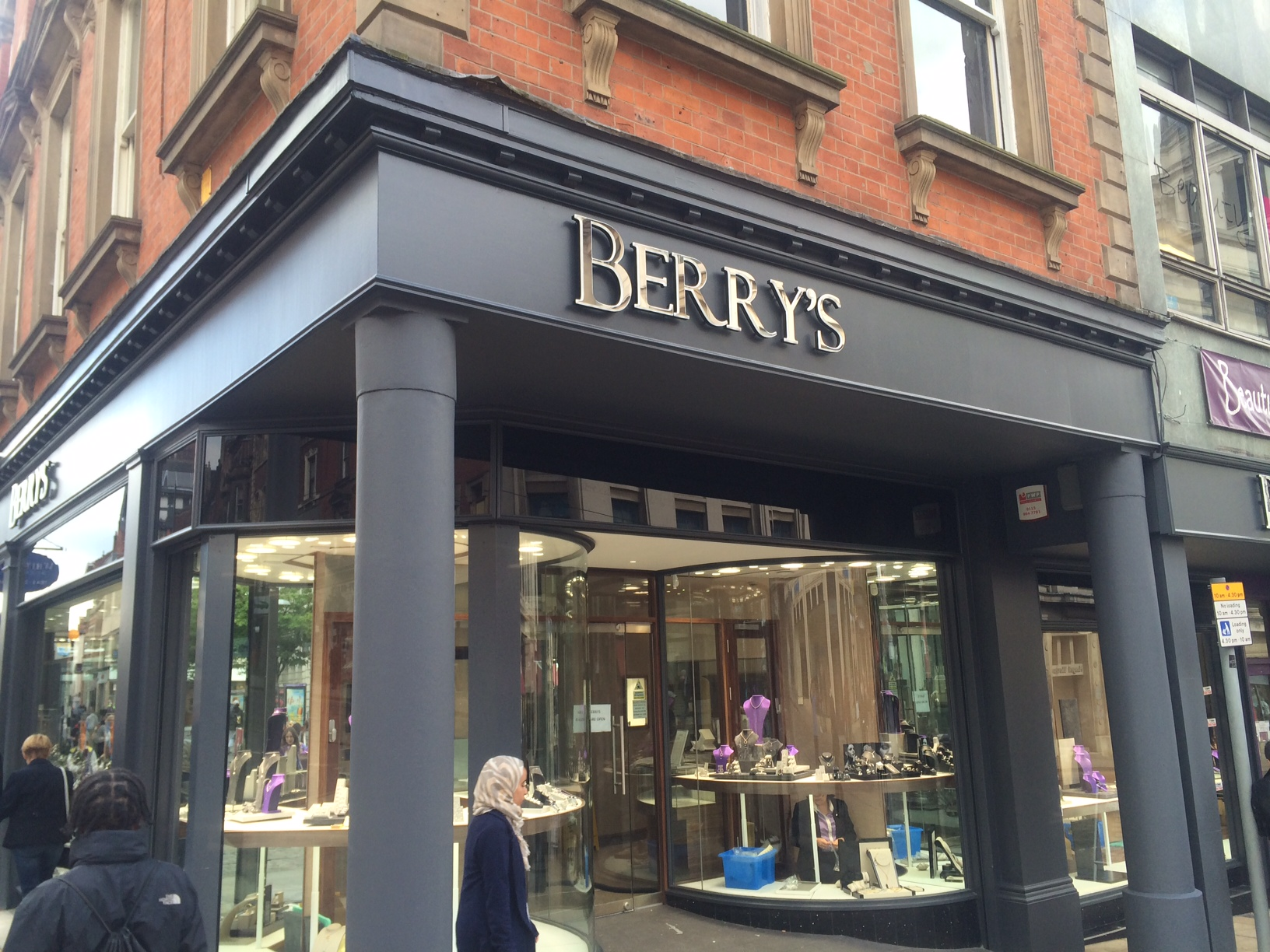 The Berry's portfolio of stores includes Leeds, York, Nottingham (pictured) and Windsor.