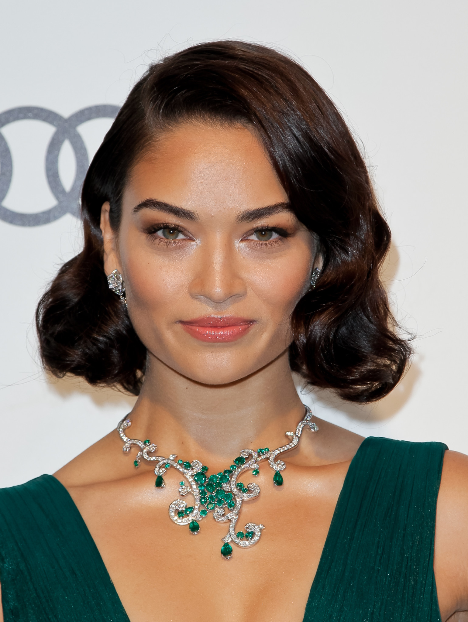 Australiam model Shanina Shaik poses upon her arrival for the 25th annual Elton John AIDS Foundation's Academy Awards Viewing Party on February 26, 2017 in West Hollywood, California. / AFP / TIBRINA HOBSON (Photo credit should read TIBRINA HOBSON/AFP/Getty Images)