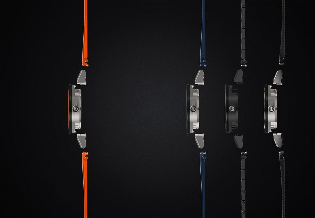 Tag heuer connect side