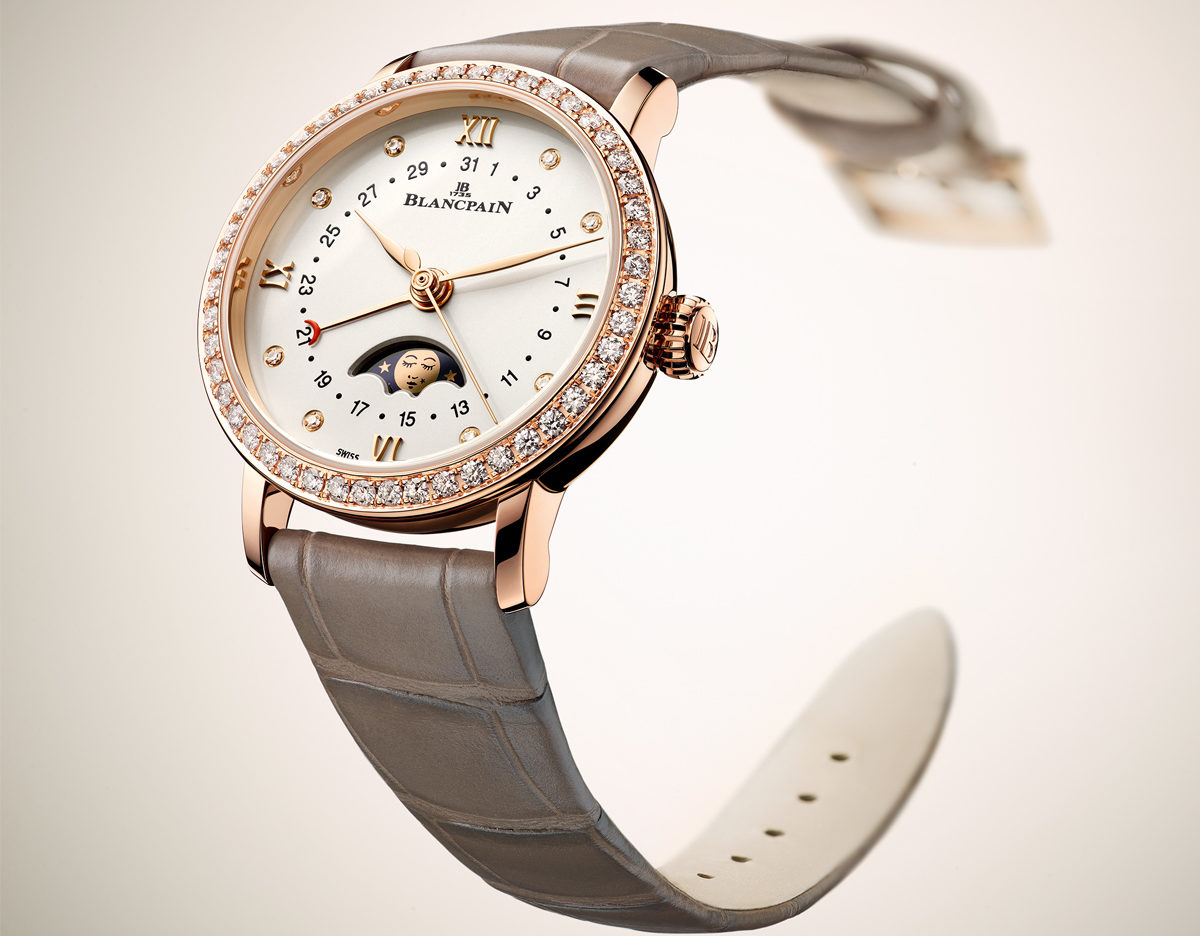 Blancpain Villeret Date Moon Phases