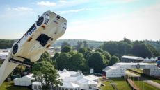 The Goodwood Festival of Speed is the biggest car and motor racing event of its kind in the world.