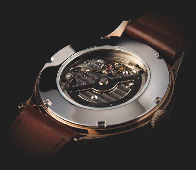 Henry London Automatic Collection caseback