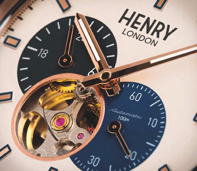 Henry London Automatic Collection dial
