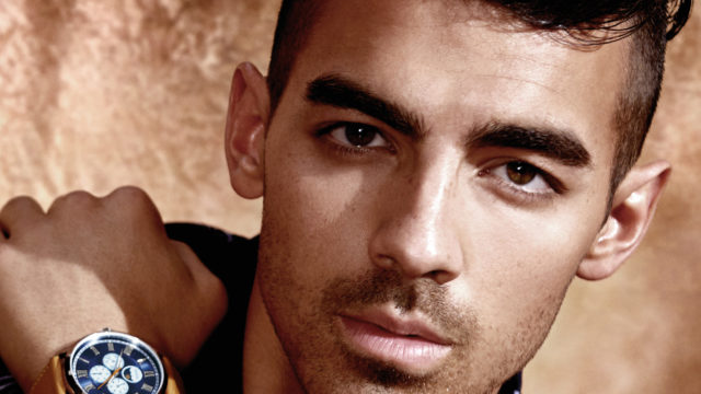 Pop sensation Joe Jonas is the current face of Guess watches.