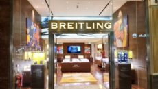 Aurum Holdings opened a monobrand boutique for Breitling in 2017.