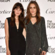 Erin Shea and Charlotte Coquelin attend the opening of the Cartier in Motion exhibition.