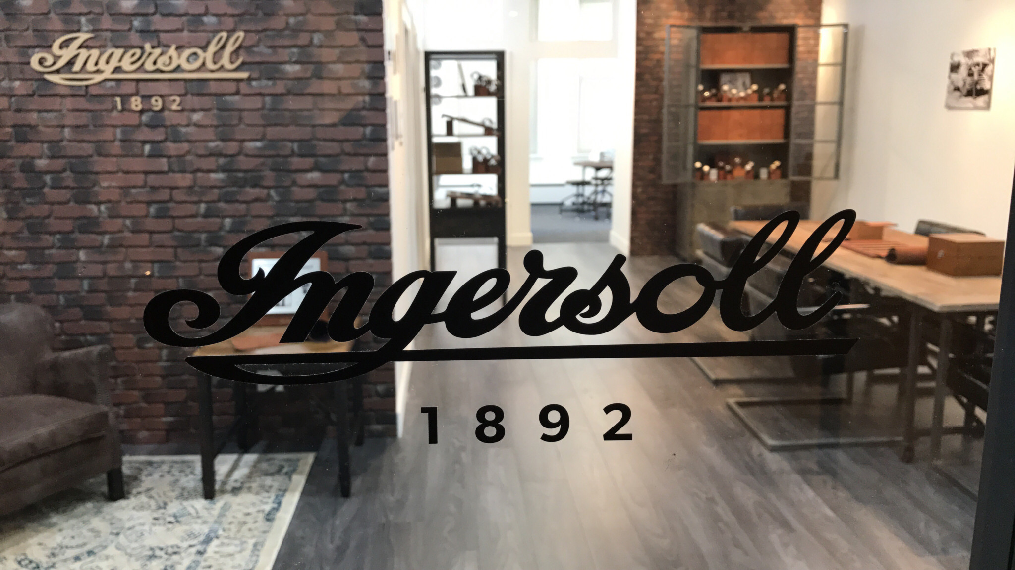 Ingersoll's New York boutique has opened on Manhattan's famous fashion street 5th Avenue, and is being used to showcase the watch brand to retail partners.