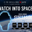 Seiko Jura Watches Space Launch