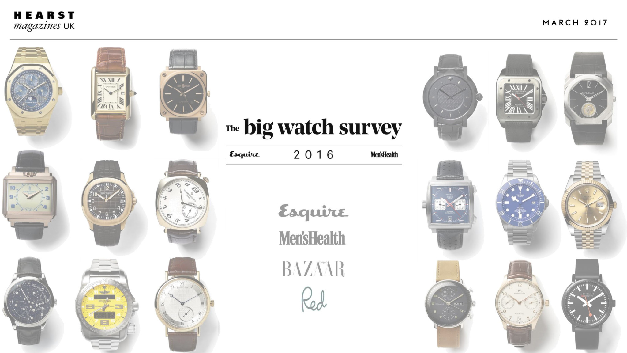 The Big Watch Survey 2016