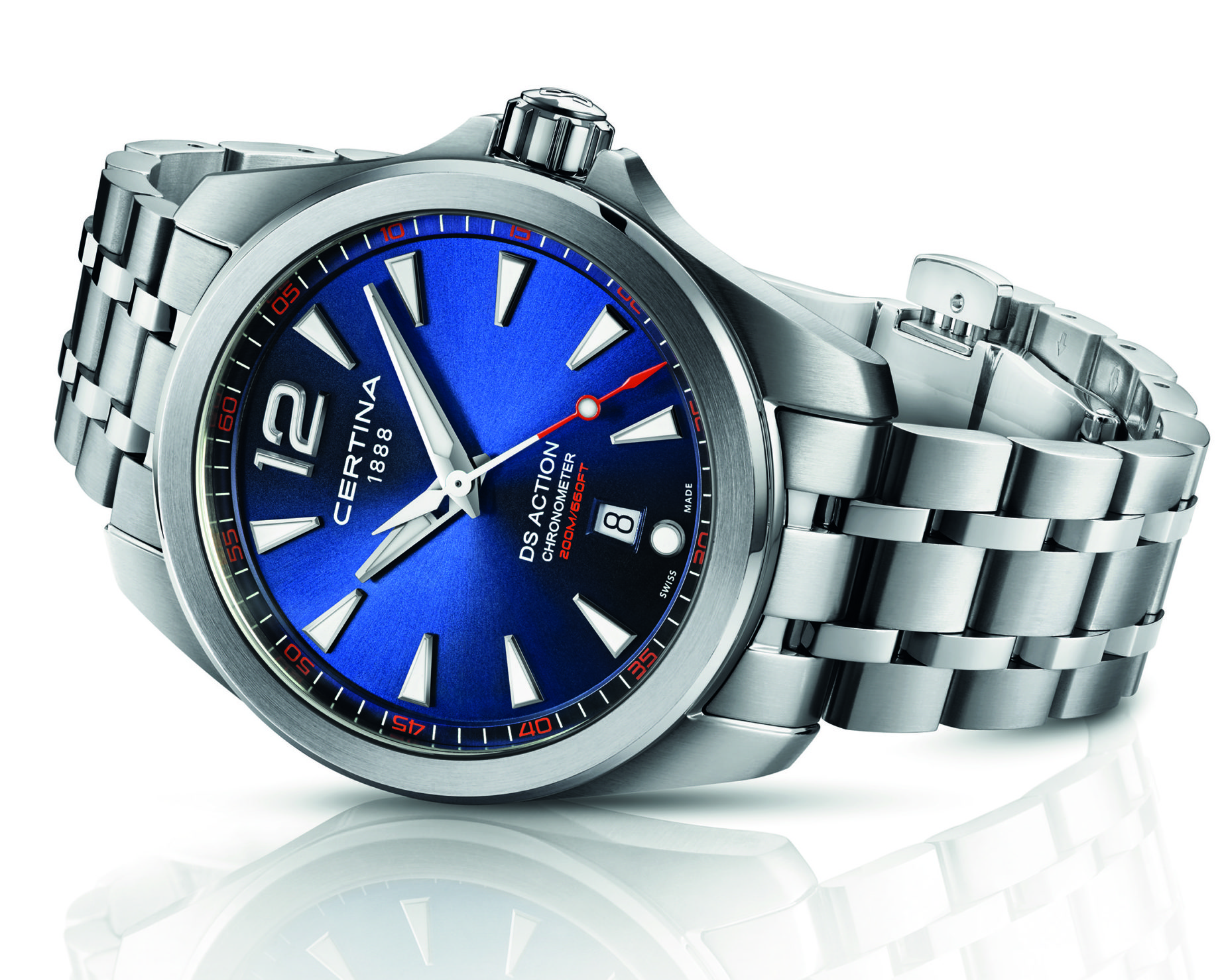 Certina DS Action 041mm COSC Chronometer