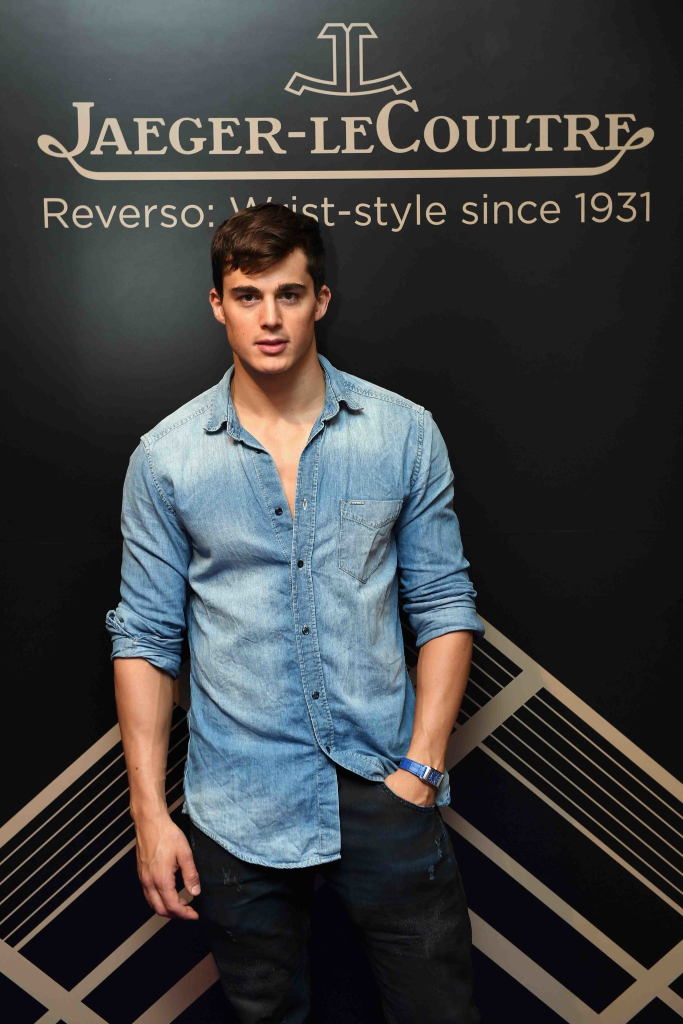 "LONDON, ENGLAND - MAY 31: Pietro Boselli attends Jaeger-LeCoultre & Christie's ""Roaring 20's, Reverso 30's"" Party at Christie's South Kensington on May 31, 2017 in London, England. (Photo by Chris J Ratcliffe/Getty Images for Jaeger-LeCoultre) *** Local Caption *** Pietro Boselli"